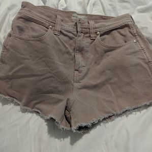Madewell cropped shorts